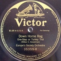 Europe's Society Orchestra : Down Home Rag