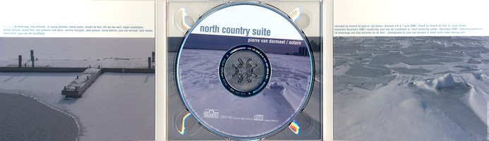 Pierre Van Dormael / Octurn : North Country Suite (digipack intérieur)